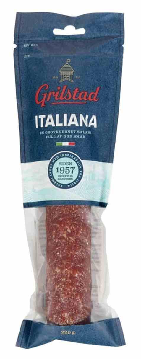 Bilde av Grilstad Italiensk Salami hel.