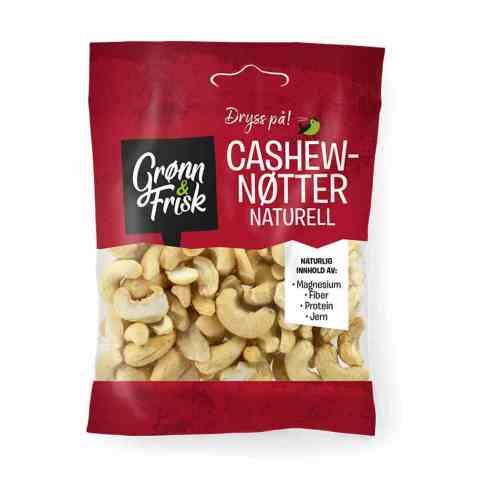 Bilde av Grønn og frisk cashewnøtter naturell.