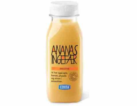 Bilde av Cevita smoothie ananas ingefær.