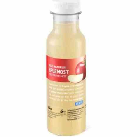 Bilde av Cevita helt naturlig eplemost med fruktkjøtt 330 ml.