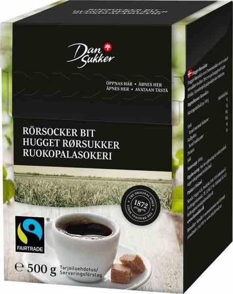 Bilde av Dansukker hugget rørsukker.