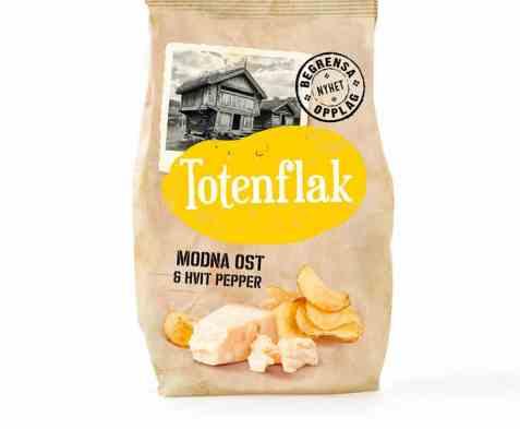 Bilde av Totenflak Modna ost & hvit pepper.