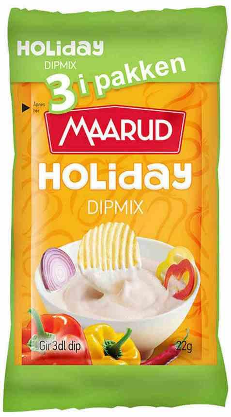 Bilde av Maarud dipmix holiday 3 pk.