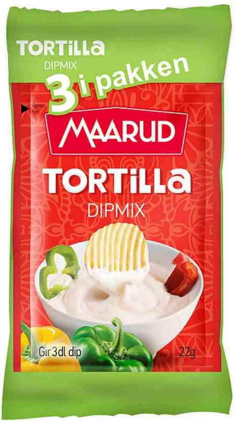 Bilde av Maarud dipmix tortilla 3 pk.