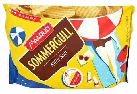 Bilde av Maarud sommergull partypose rifla salt.