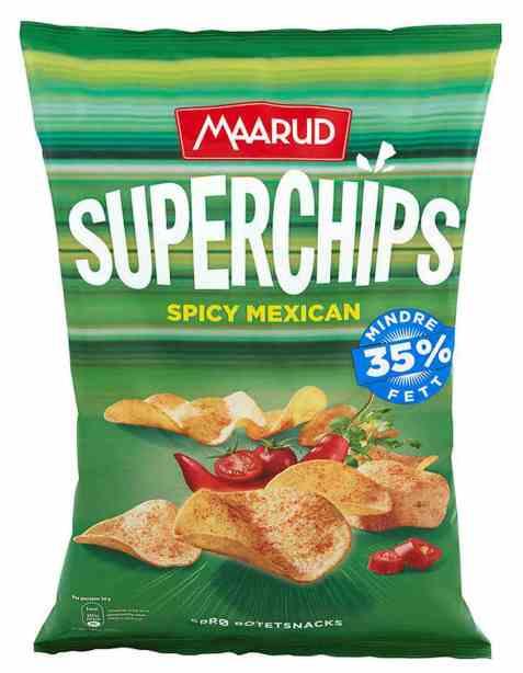 Bilde av Maarud superchips spicy mexican.