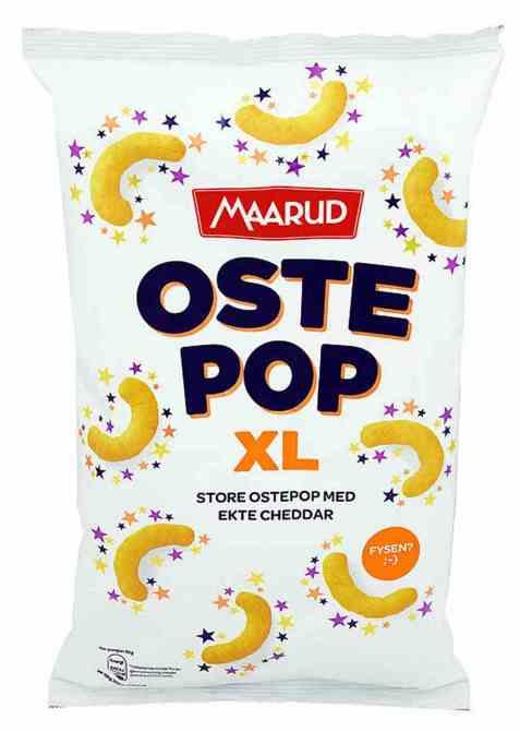 Bilde av Maarud ostepop xl cheddar.