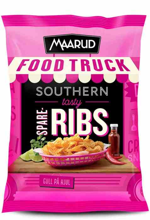 Bilde av Maarud Food Truck Southern tasty Spareribs.