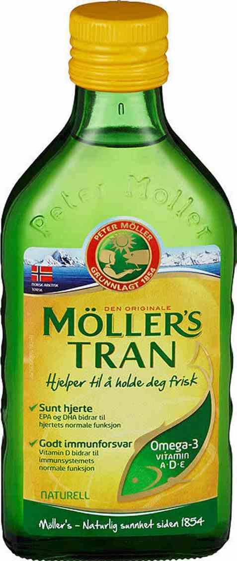 Bilde av Møllers Tran naturell 250 ml.