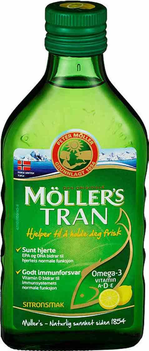 Bilde av Møllers Tran sitron 250 ml.