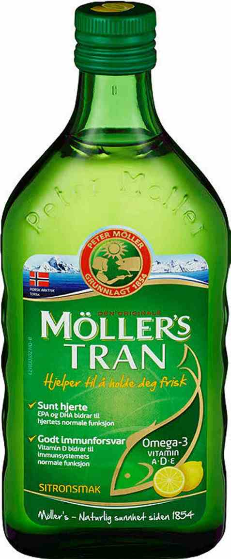 Bilde av Møllers Tran sitron 500 ml.