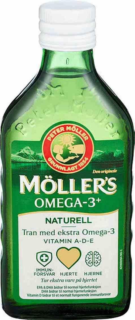 Bilde av Møllers Tran omega-3 250 ml.