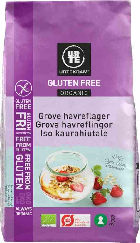 Bilde av Urtekram grove glutenfrie havreflak 500 gr.
