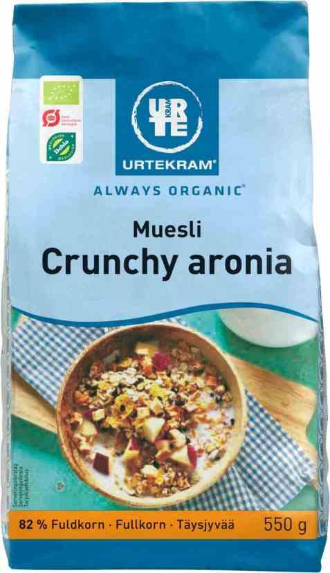 Bilde av Urtekram muesli crunchy aronia.
