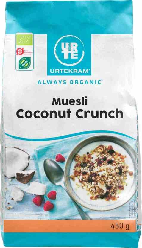 Bilde av Urtekram muesli coconut crunch.