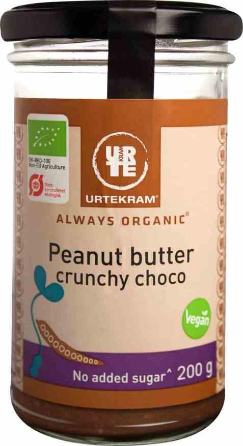 Bilde av Urtekram peanøttsmør crunchy kakao.