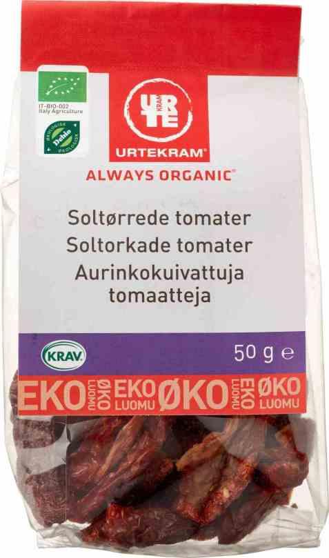 Bilde av Urtekram tomater soltørkede.
