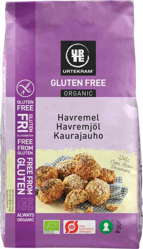 Bilde av Urtekram havremel glutenfri.