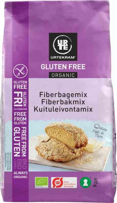 Bilde av Urtekram fiber bakemix glutenfri.