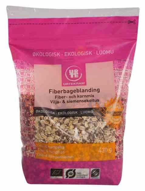 Bilde av Urtekram bakemix fibre.