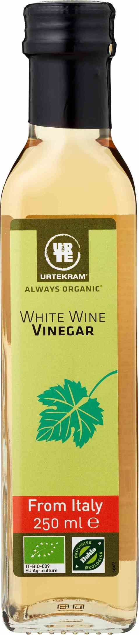 Bilde av Urtekram white wine vinegar 250 ml.