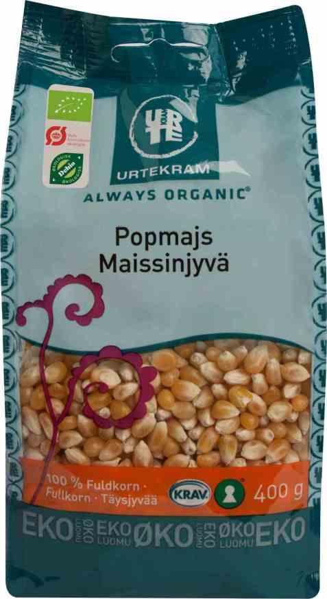 Bilde av Urtekram popkorn 400 gr.
