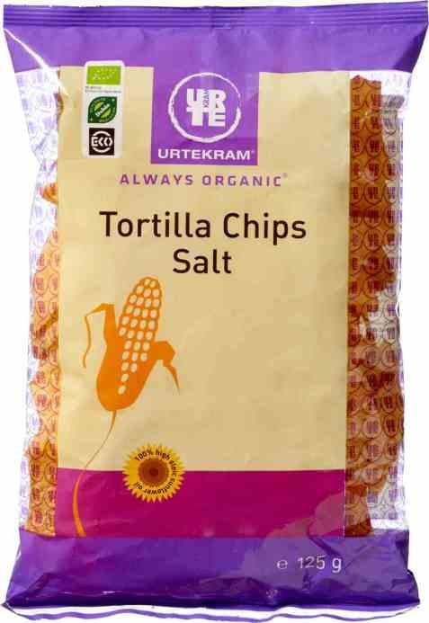 Bilde av Urtekram tortilla chpis salte.