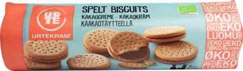 Bilde av Urtekram spelt biscuits kakaokrem.