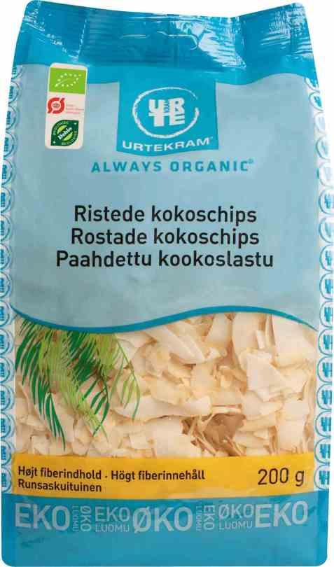 Bilde av Urtekram kokoschips ristede.