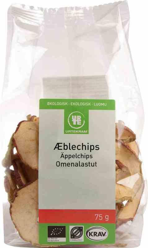 Bilde av Urtekram eple-chips.