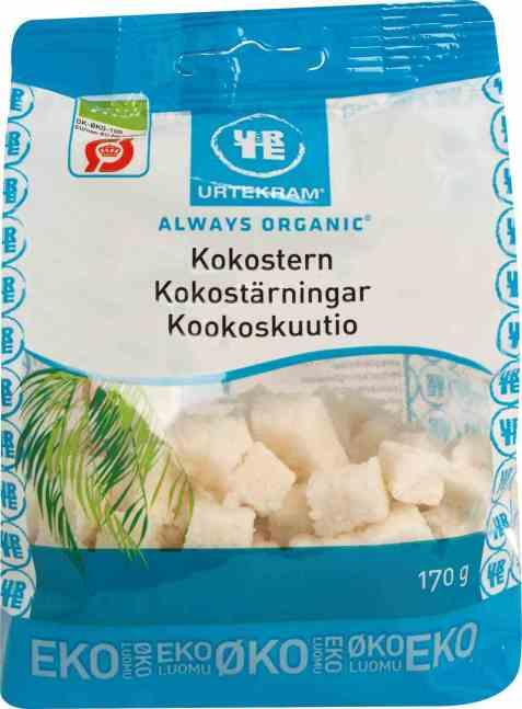 Bilde av Urtekram kokosterninger.