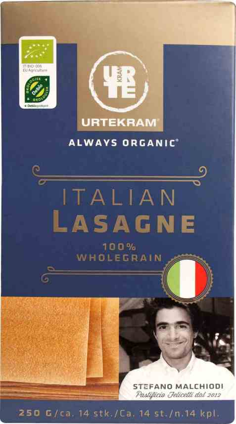 Bilde av Urtekram pasta lasagneplater.