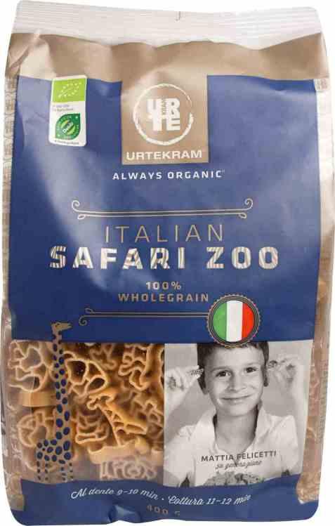 Bilde av Urtekram pasta safari zoo.