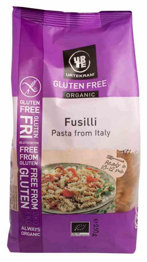 Bilde av Urtekram pasta fusilli glutenfri.