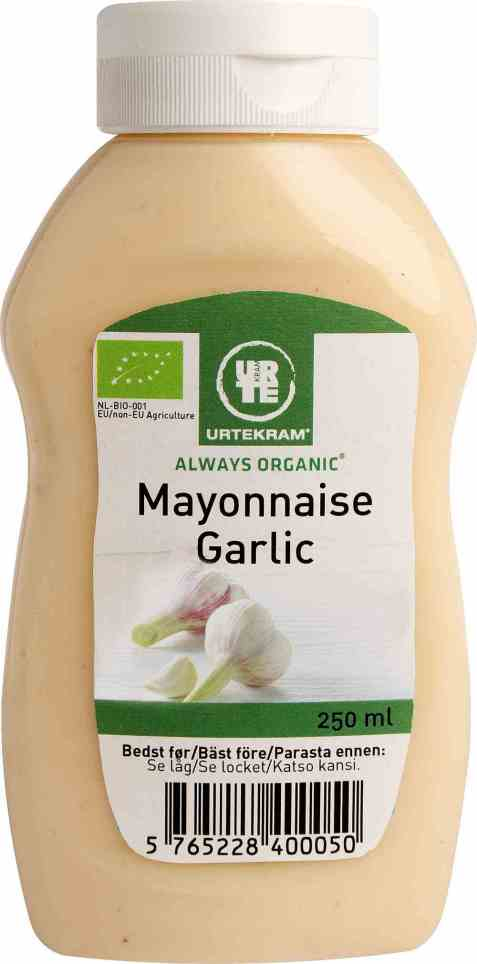 Bilde av Urtekram mayonnaise garlic.