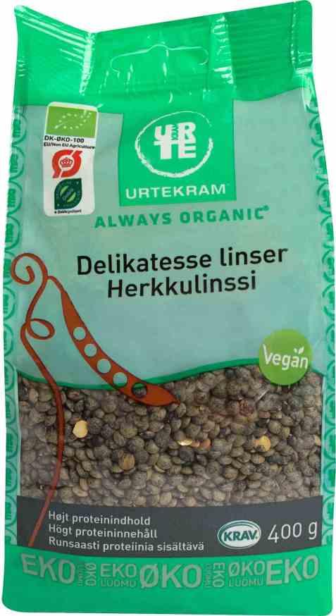 Bilde av Urtekram le-puylinser.