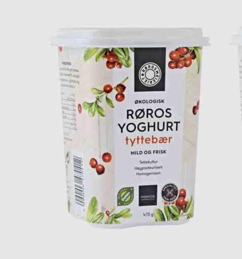 Bilde av Rørosmeieriet yoghurt tyttebær.