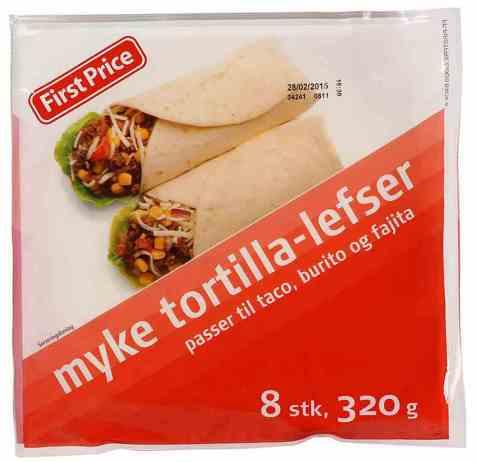 Bilde av First Price tortilla lefser 320 gr.