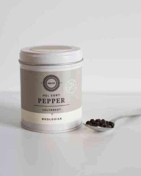 Bilde av Helios hel sort pepper 70 g.