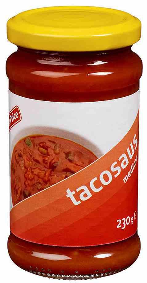 Bilde av First price taco saus medium.