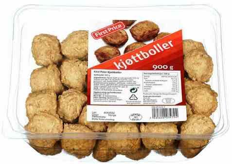 Bilde av First Price kjøttboller 900 gr.