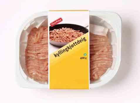 Bilde av First Price kyllingkjøttdeig.