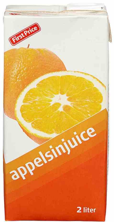 Bilde av First Price appelsinjuice.