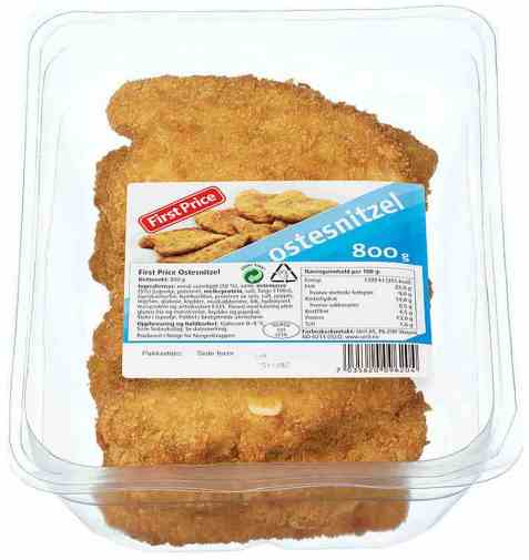 Bilde av First Price ostesnitzel 800 gr.