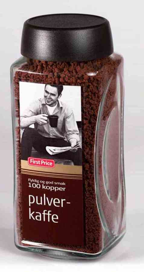 Bilde av First price instant kaffe 200 gr.