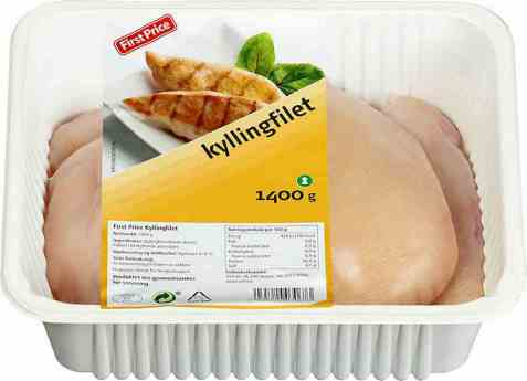 Bilde av First price kyllingfilet 1,4 kg fersk.