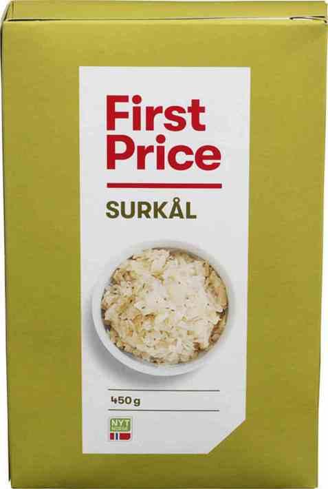 Bilde av First price surkål.