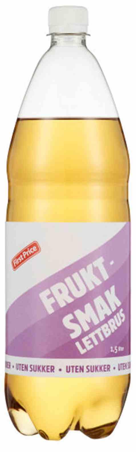 Bilde av First Price brus med fruktsmak light.