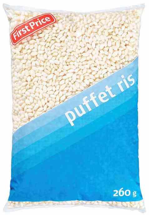 Bilde av First Price puffet ris.