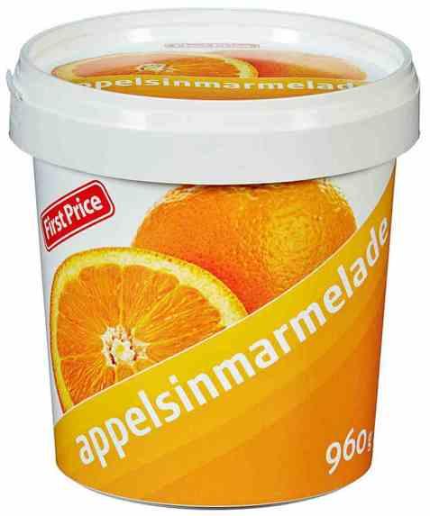 Bilde av First Price appelsinmarmelade.